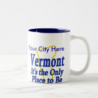 Vermont es el único lugar a ser taza de café