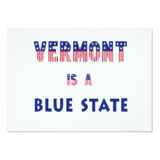 Vermont es un estado azul invitaciones personales