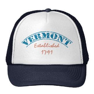 Vermont estableció gorras de camionero