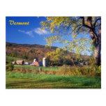 Vermont Farm Post Card