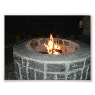 Vermont Fire Pit Photo Art