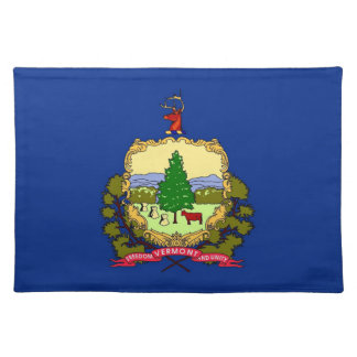 Vermont Flag American MoJo Placemat Cloth Place Mat