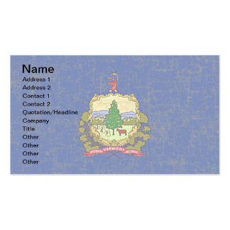 VERMONT FLAG BUSINESS CARD