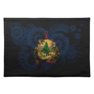 Vermont Flag Cloth Place Mat