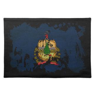 Vermont Flag Cloth Placemat