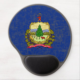 VERMONT FLAG GEL MOUSE PAD