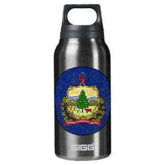 VERMONT FLAG INSULATED WATER BOTTLE