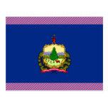 Vermont Flag Postcard