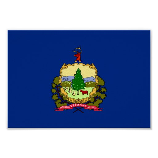 Vermont Flag Posters
