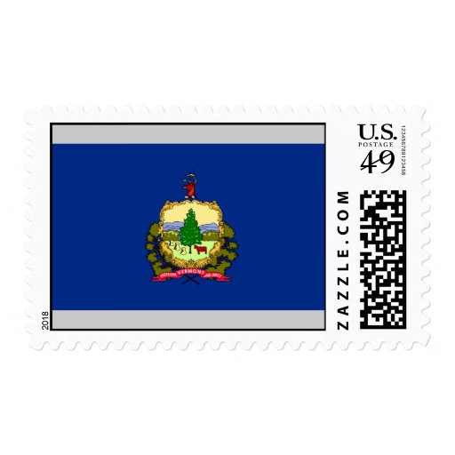 Vermont Flag Stamps