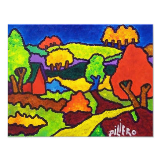 Vermont Foliage 10-7 Card
