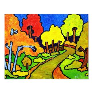 Vermont Foliage o-8 Card