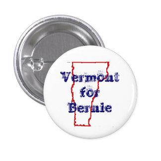 Vermont for Bernie 1 Inch Round Button