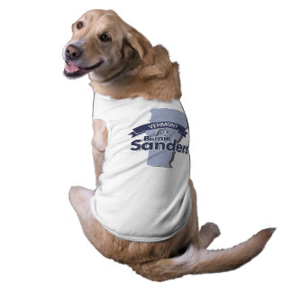 Vermont for Bernie Sanders Dog Clothes