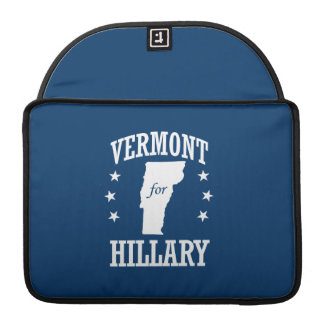 VERMONT FOR HILLARY MacBook PRO SLEEVES