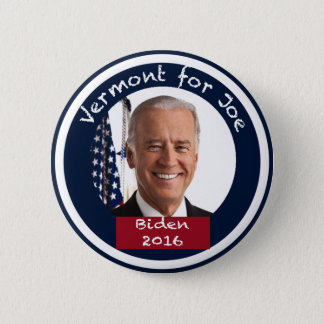 Vermont for Joe Biden 2016 Button