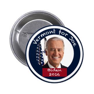 Vermont for Joe Biden 2016 Button