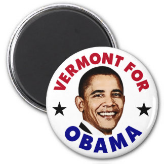 Vermont For Obama Magnet