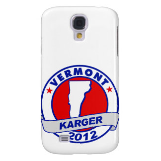 Vermont Fred Karger Galaxy S4 Cases