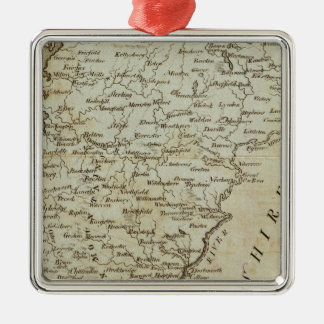 Vermont, from actual Survey Metal Ornament