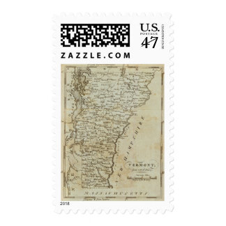 Vermont, from actual Survey Postage