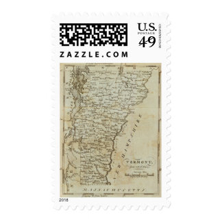 Vermont, from actual Survey Stamp