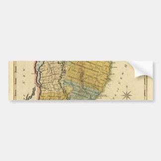 Vermont, From actual Survey - Vintage 1814 Map Bumper Sticker