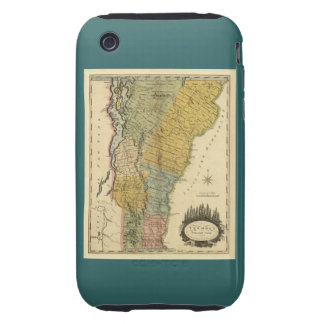 Vermont, From actual Survey - Vintage 1814 Map iPhone 3 Tough Cover