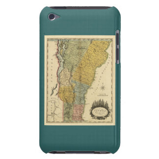 Vermont, From actual Survey - Vintage 1814 Map iPod Touch Case-Mate Case