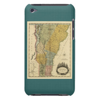 Vermont, From actual Survey - Vintage 1814 Map Barely There iPod Covers