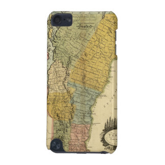 Vermont, From actual Survey - Vintage 1814 Map iPod Touch (5th Generation) Covers