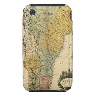Vermont, From actual Survey - Vintage 1814 Map iPhone 3 Tough Case