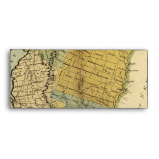 Vermont, From actual Survey - Vintage 1814 Map Envelope