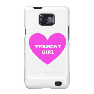 Vermont Girl Galaxy SII Cases