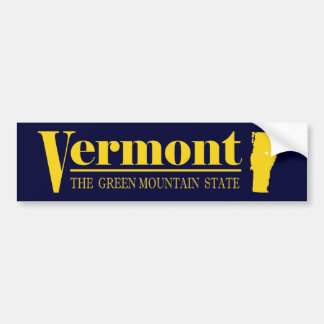 Vermont Gold Bumper Sticker