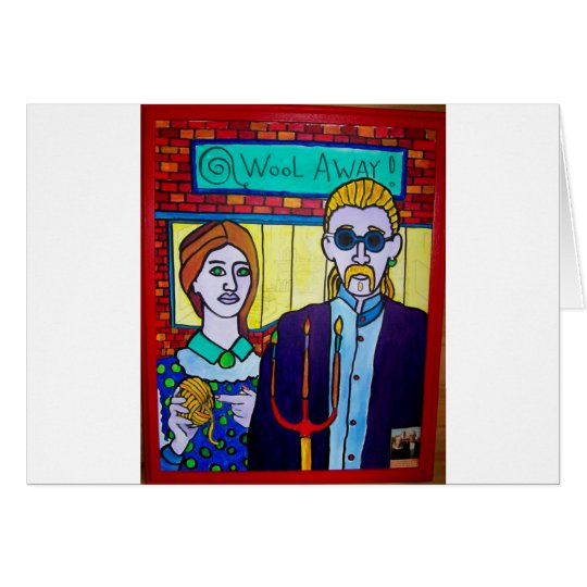Vermont Gothic by Piliero Card