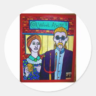 Vermont Gothic by Piliero Classic Round Sticker