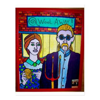 Vermont gótico por Piliero Tarjeta Postal