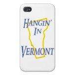 Vermont - Hangin iPhone 4/4S Fundas