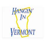 Vermont - Hangin Tarjeta Postal
