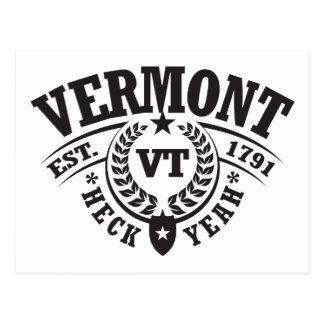 Vermont, Heck Yeah, Est. 1791 Postcard