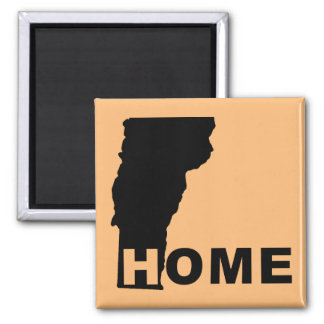 Vermont Home Away From State Fridge Magnet
