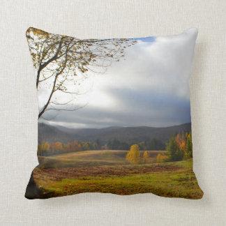 Vermont in Autumn Throw Pillow