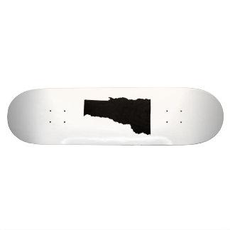 Vermont in Black and White Skate Board Decks