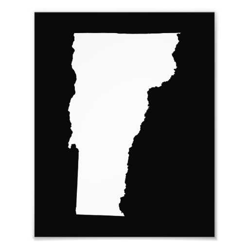 Vermont in White and Black Photographic Print