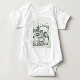 Vermont Inking 41 by Piliero Baby Bodysuit