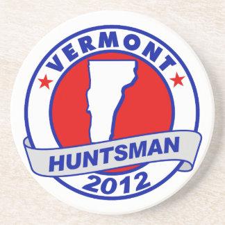 Vermont Jon Huntsman Drink Coaster