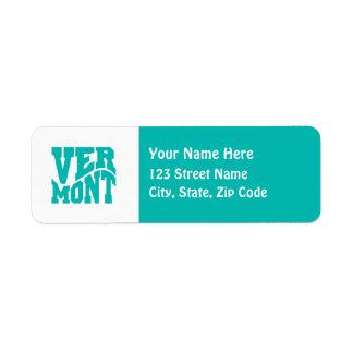Vermont Label