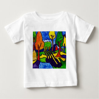 Vermont Landscape by Piliero Baby T-Shirt