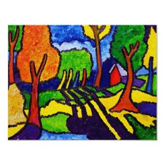Vermont Landscape by Piliero Card